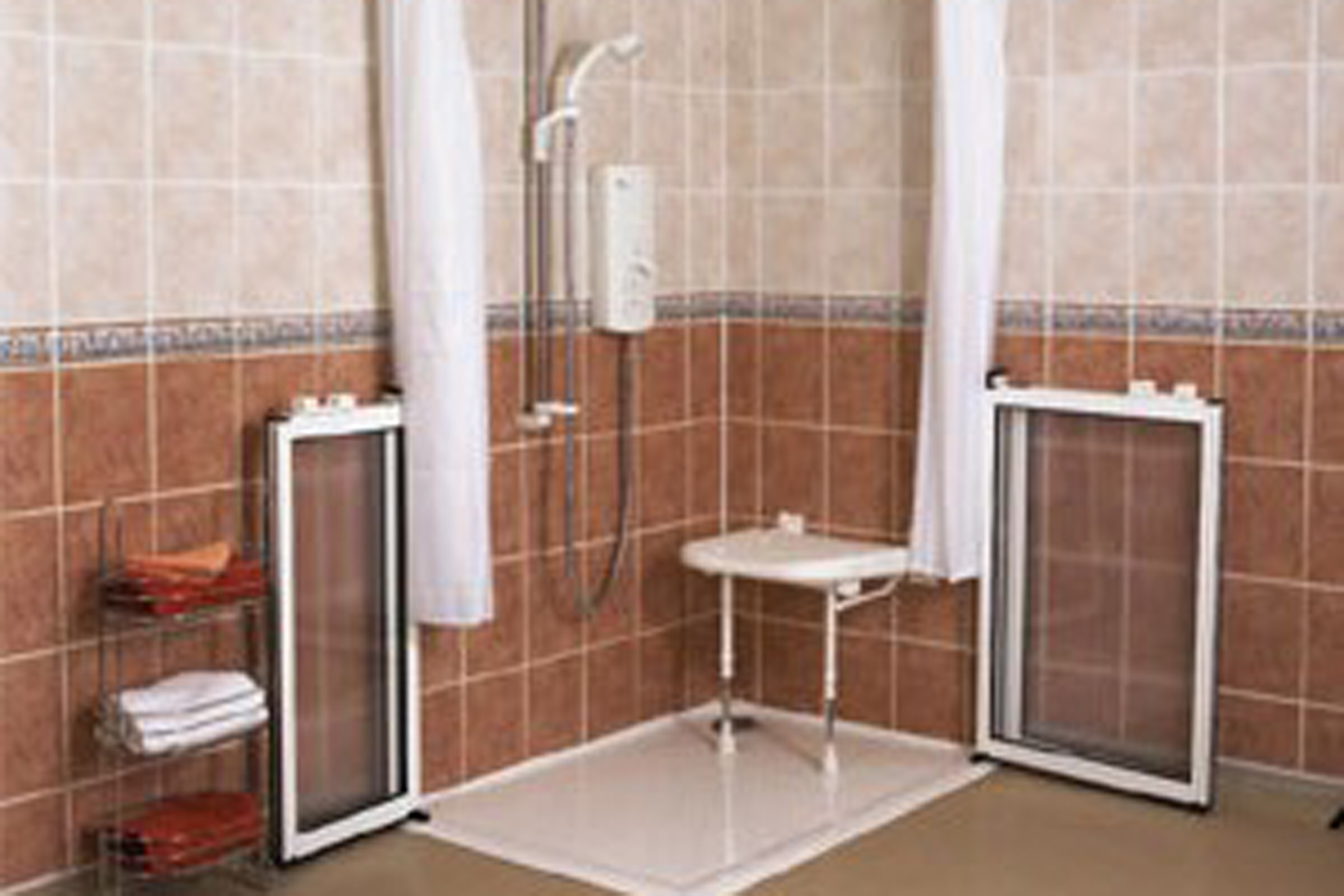 bathing shower doors can address this matter allowing you to shower